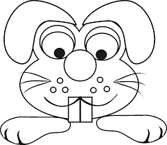 Simple Zoo Animal Coloring Pages Printable Coloring Page For Kids