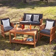 how to choose the best wood patio set overstock com