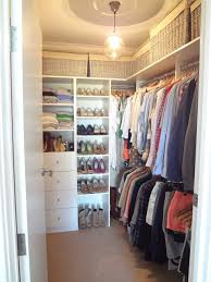 20 incredible small walk in closet ideas makeovers the happy housie with regard to diy walkin closet renovation