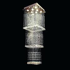 chandeliers raindrop chandelier lighting square long crystal hover to zoom modern with crystals raindrop chandelier lighting