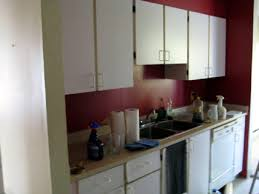 Kitchen Apartment Design Extraordinary Apartment Kitchen Makeover Honey Shaker Cabinet And Formica Counter