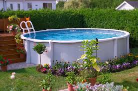 Surging Landscaping Ideas Around Above Ground Pool 17 Ways To Add