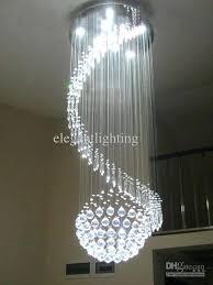 crystal pendant chandelier see larger image crystal chandelier ceiling 6 light pendant lamp modern