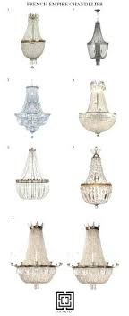 small of cute in french empire chandelier antique basket