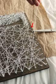 Nail String Art Designs Diy Personalized String Art Tree
