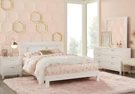 Gardenia Kids White 5 Pc Full Platform Bedroom - Teen Bedroom Sets ...