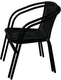 Outdoor Wicker Furniture Black Color  Simple But Elegant Outdoor Black Outdoor Wicker Furniture