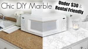 diy marble apartment kitchen makeover you contact paper for kitchen countertops