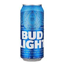 cerveza importada bud light 4 latas de