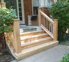 wood outdoor steps improvements and repairs front porch steps and railings