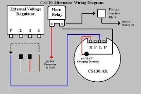 one wire alternator wiring diagram ford wiring diagram nissan 1 wire alternator conversion diagram wiring