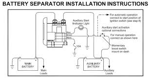 video dual battery setup with separator page 4 Pac 500 Battery Isolator Wiring Diagram name 1314a wiring jpg views 1910 size 42 4 kb Multi Battery Isolator Diagram