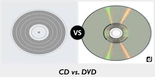 dvd vs cd difference between cd and dvd