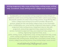essay help service