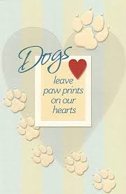 Sympathy Card Pet Loss Amazon Com Pet Loss Sympathy Card For Dog Paw Print 1 Single