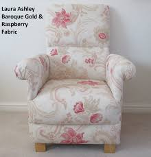 Laura Ashley Bedroom Chairs Laura Ashley Baroque Fabric Adult Chair Raspberry Gold Lounge