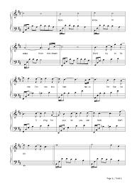 hello free piano sheet music hello evanescence stave preview 3 free piano sheet music piano chords