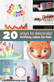 20 Birthday Cake Decoration Ideas Crystalandcompcom
