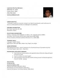 Resume Writing For Science Jobs How To Make Teaching Cv Sample