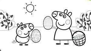 Peppa Pig Colouring Pages For Toddlersllllllllllllllllllll L