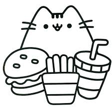 Coloring Pages Pusheen Cat Coloring Pages Inspiration Of Colouring