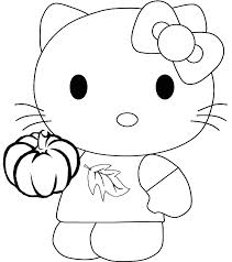 Hello Kitty Coloring Book Drawing Kleurplaat Child Bb 8 718810