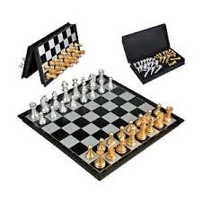 Image Is Loading Travel Chess Sets Magnetic Folding Board Game For