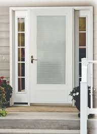 wonderful full glass exterior door with screen contemporary