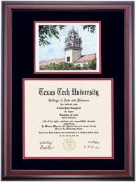 texas tech alumni association diploma frames diploma display