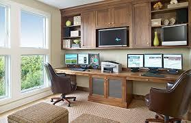 walnut home office furniture. Office - Room Length Desk, Hanging Shelves/cabinets Natural Walnut Home Furniture