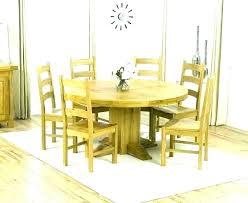 60 inch round kitchen table sets round