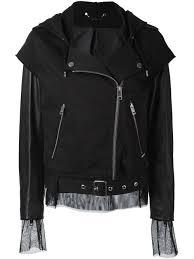 sel hooded biker jacket women clothing portable sel generator promo codes sel sleeveless