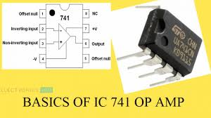 Design Aspects Of Monolithic Op Amps Ic 741 Op Amp Basics Characteristics Pin Configuration