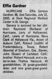 Obituary for Effie Geneva Gardner (Aged 88) - Newspapers.com