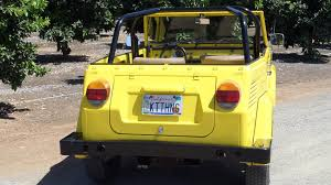 volkswagen thing yellow. volkswagen thing yellow