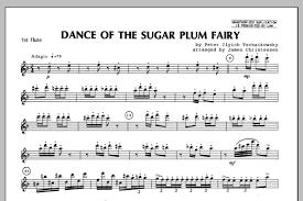 dance of the sugar plum fairy sheet music dance of the sugar plum fairy flute 1 sheet music direct