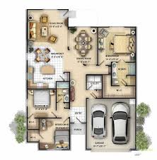 color floor plans with dimensions. Delighful Floor 2D Color Floor Plan Of A Single Family 1 Story Home Created For Client  Through Our 3D Architectural Rendering Services For Color Floor Plans With Dimensions