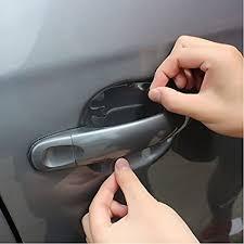 car door handle hand. Exellent Car Meccion 12Pcs Universal Invisible Car Door Handle Paint Scratch Protector  Sticker Protective Film And Hand D