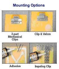 velcro wall panels. wall panel mounting options velcro panels
