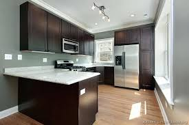 grey kitchen cabinets wall colour gypsy best wall color for kitchen with espresso cabinets on rustic