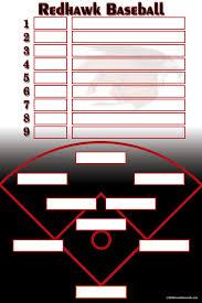 baseball lineup creator baseball softball image maker