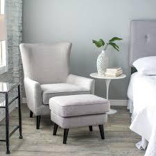 white ottoman chair amazing best simple bedroom chairs at intended for bedroom chairs and ottomans alan