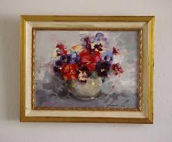 saatchi art artist vahe yeremyan painting flowers still life oil painting on canvas