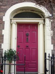 cool door designs. Inspiring Look Of Cool Door Designs : Interesting Design Ideas Using Rectangular Red Wooden Doors And S