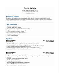 10+ Nanny Resume Templates - Pdf, Doc | Free & Premium Templates