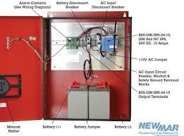 dc power enclosures for nfpa 1221 in building standards 12v dc voltage 24v dc dc output 240 watts battery back up 55 amp hour pe instruction manual