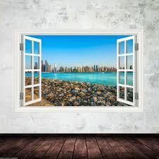 home décor dubai city skyline landscape