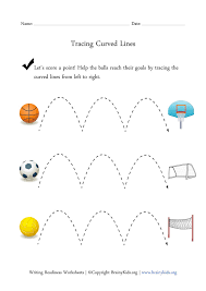 Tracing Curved Lines Worksheet | Tracing | Pinterest | Worksheets ...