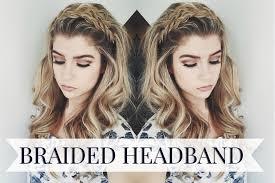 Headband Hair Style braided headband hairstyle youtube 3235 by wearticles.com