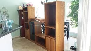 makeover furniture. BEFORE PIC DIY 90s Entertainment Center Turned Craft Room Storage Organizer Wall Unit Furniture Makeover -
